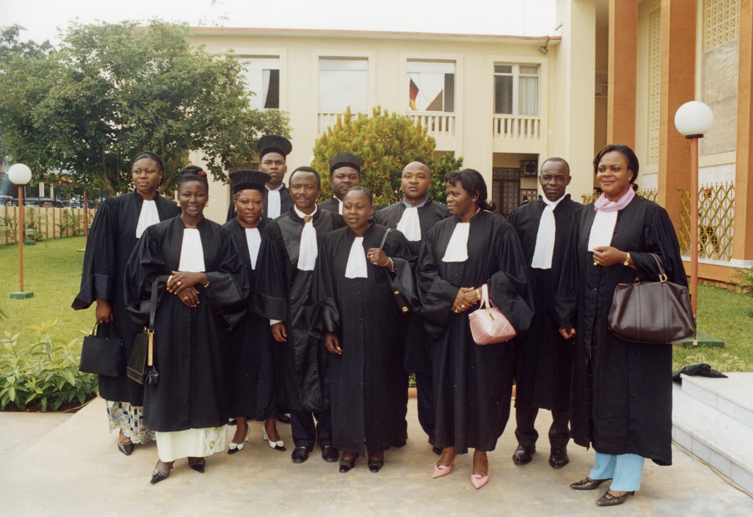 Pas d huissiers de justice dans tout le nord du congo sacer - Chambre departementale des huissiers de justice ...